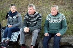 Islandczycy w lopapeysa