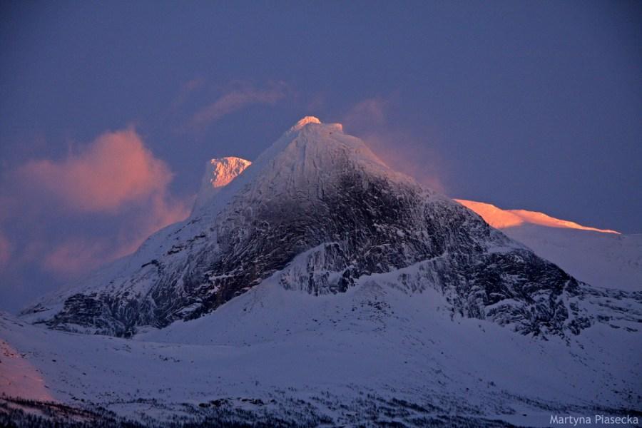 Kobbvatnet, północna Norwegia - foto