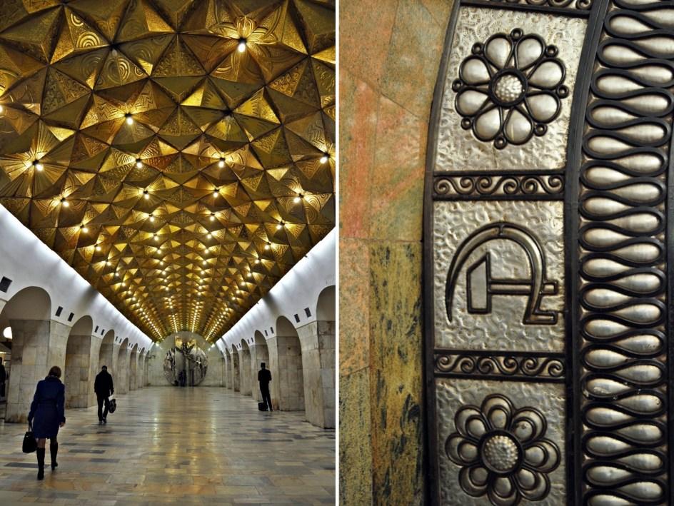 Stacje moskiewskiego metra - zdjęcia