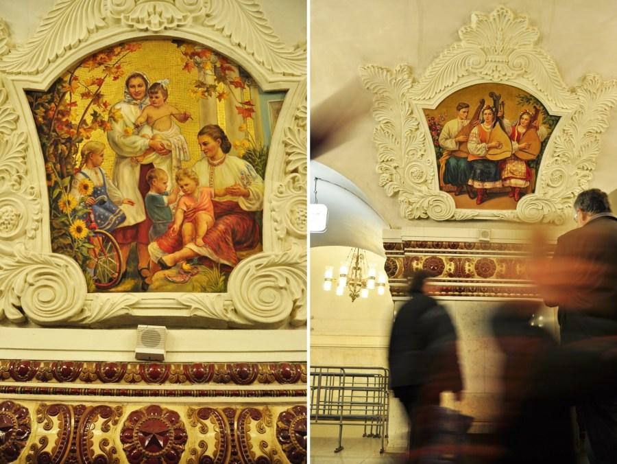 Stacja Kijewskaja - zdjęcia z moskiewskiego metra