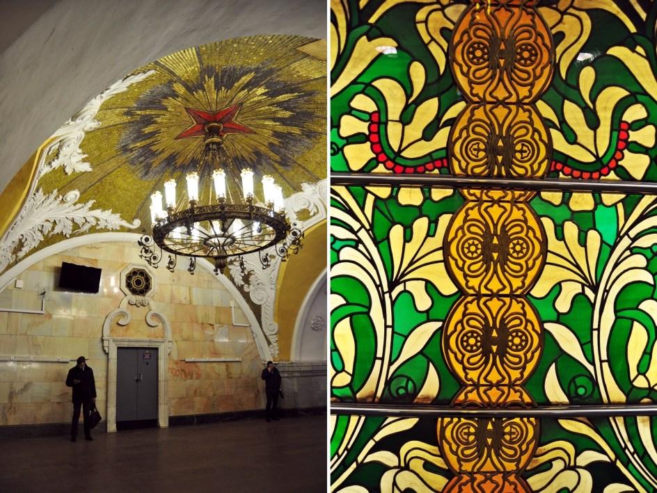 Metro w Moskwie - fotografie