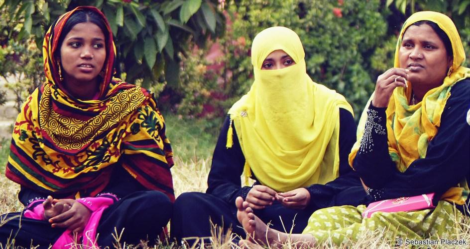 Muzułmanki z Bangladeszu, foto