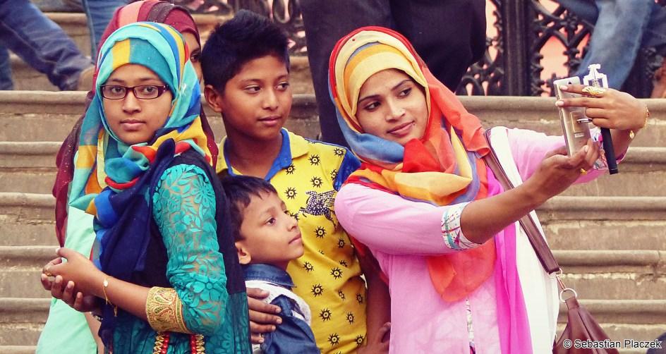 Bangladesz, dziewczyny z Dhaki, foto