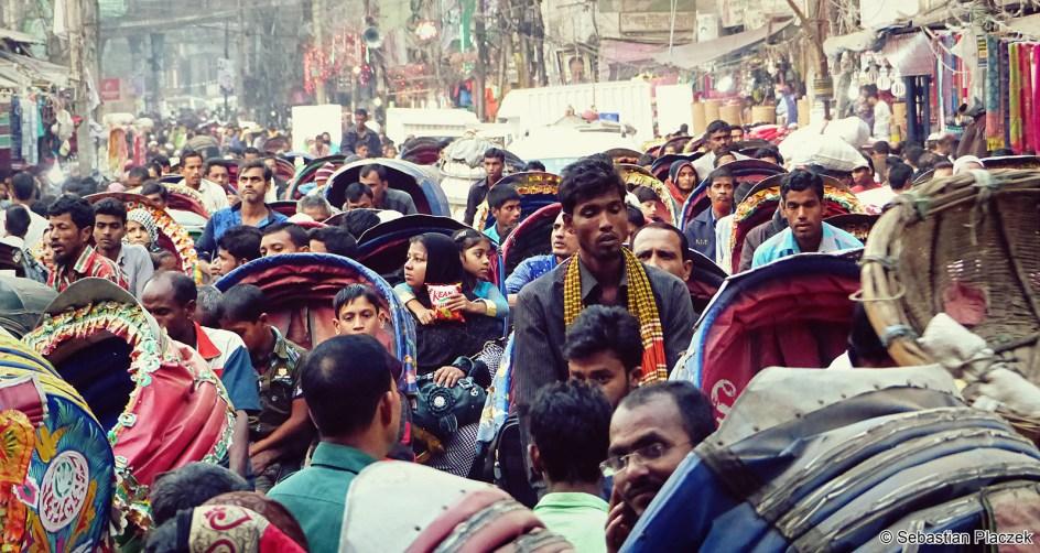 Bangladesz - zdjęcia z podróży, ludność Dhaki