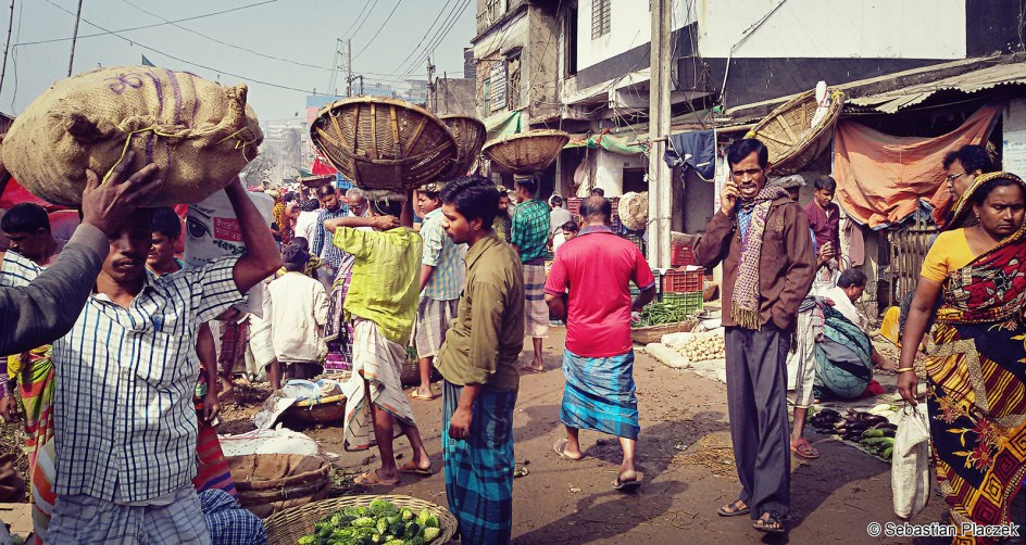 Bangladesz, ulice Dhaki, handel, zdjęcia, podróże