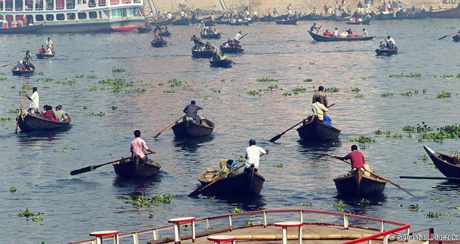 Transport rzeczny w Bangladeszu, foto, podróże