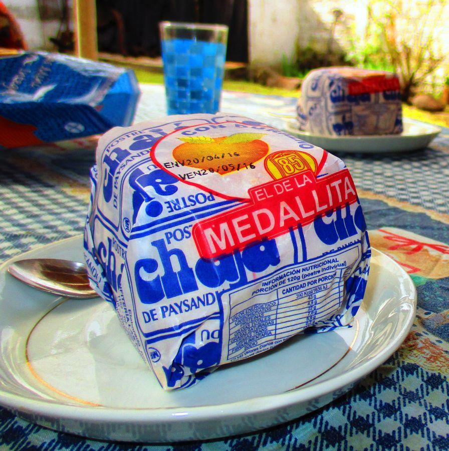 Chaja de Paysandu - słodki deser z Urugwaju