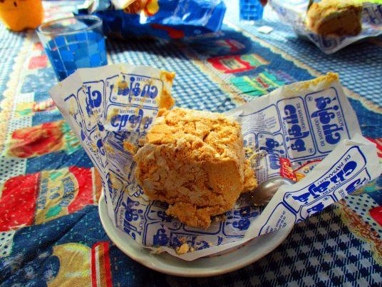 Chaja de paysandu - biszkopt z brzoskwinią