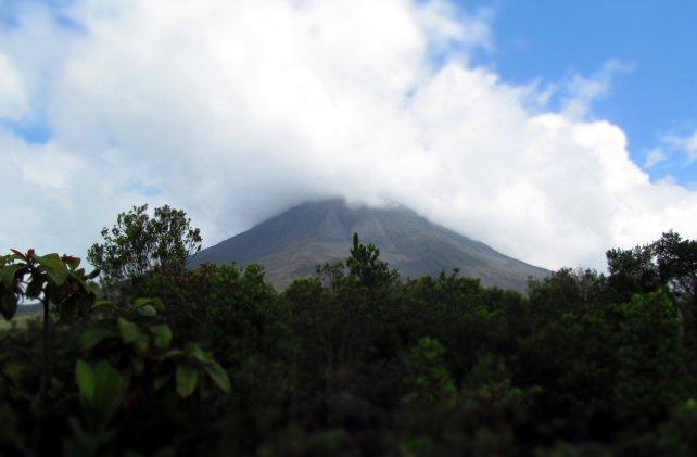 Wulkan Arenal, Kostaryka, podróże