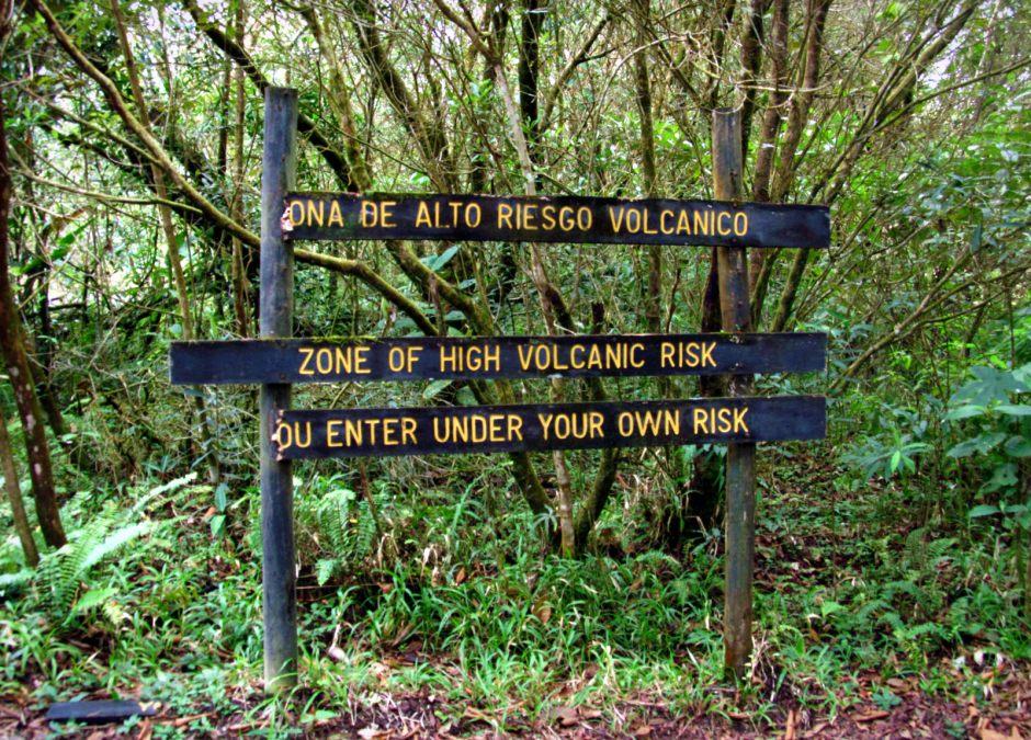 Kostaryka, droga do wulkanu Arenal, foto