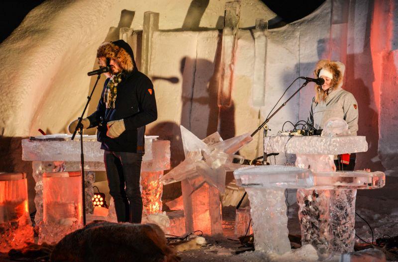 Norwegia, lodowy festiwal muzyczny w Geilo