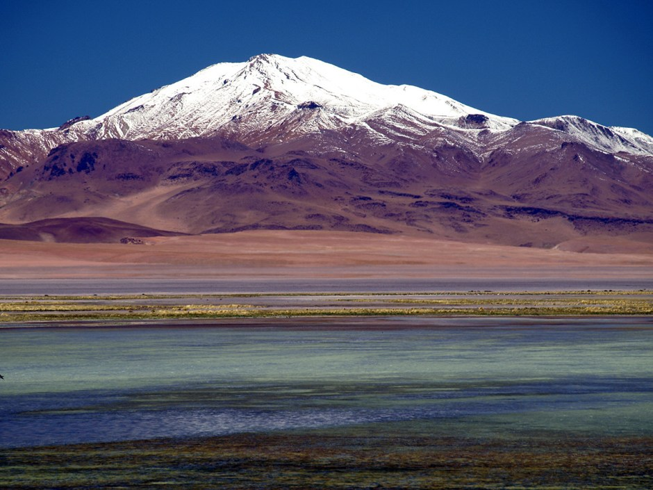 Atacama w Chile, Aquas Calientes
