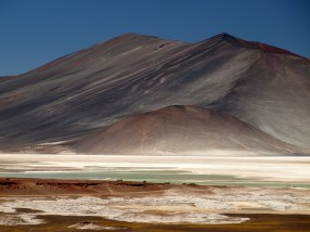 Chile, podróż przez pustynię Atakama, góry