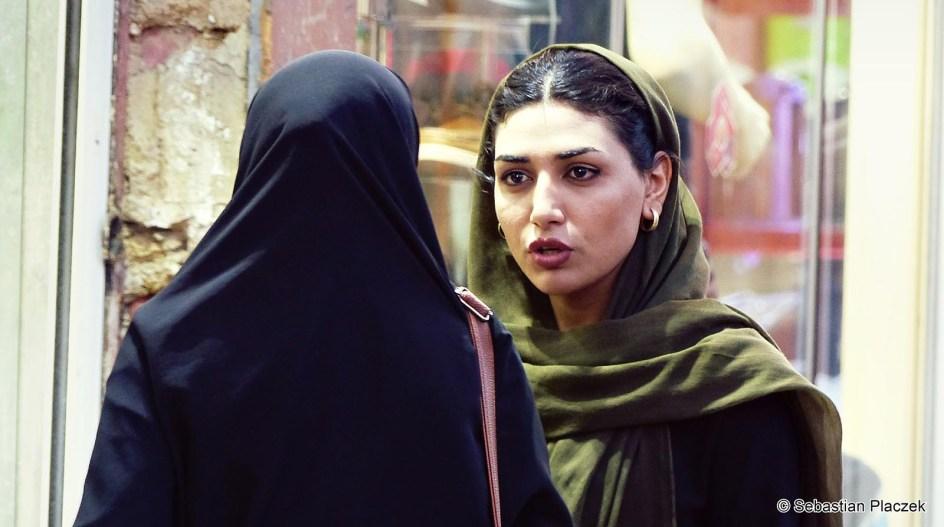 Iran, kobiety z Isfahany, zdjęcia z podróży
