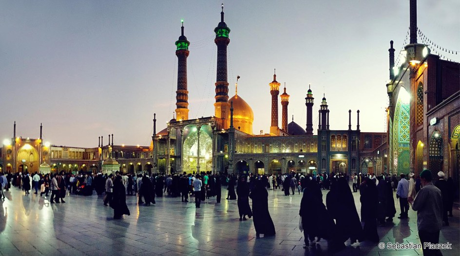 Iran, Quom, święte miasto szyitów. Zdjęcia z podróży