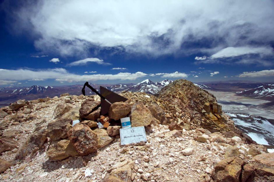 Na szczycie wulkanu Ojos del Salado, granica chilijsko-argentyńska - relacja i zdjęcia z wyprawy w Andy