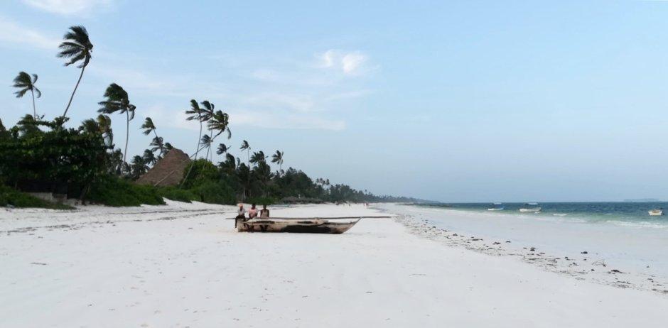 Zanzibar, Unguja, Matemwe. Szerokie i białe plaże są domeną wyspy