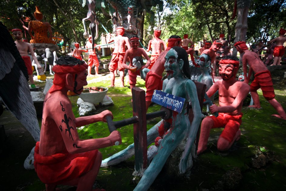 Wat Pa Non Sawan w Tajlandii, kara za dokonanie aborcji w buddyźmie