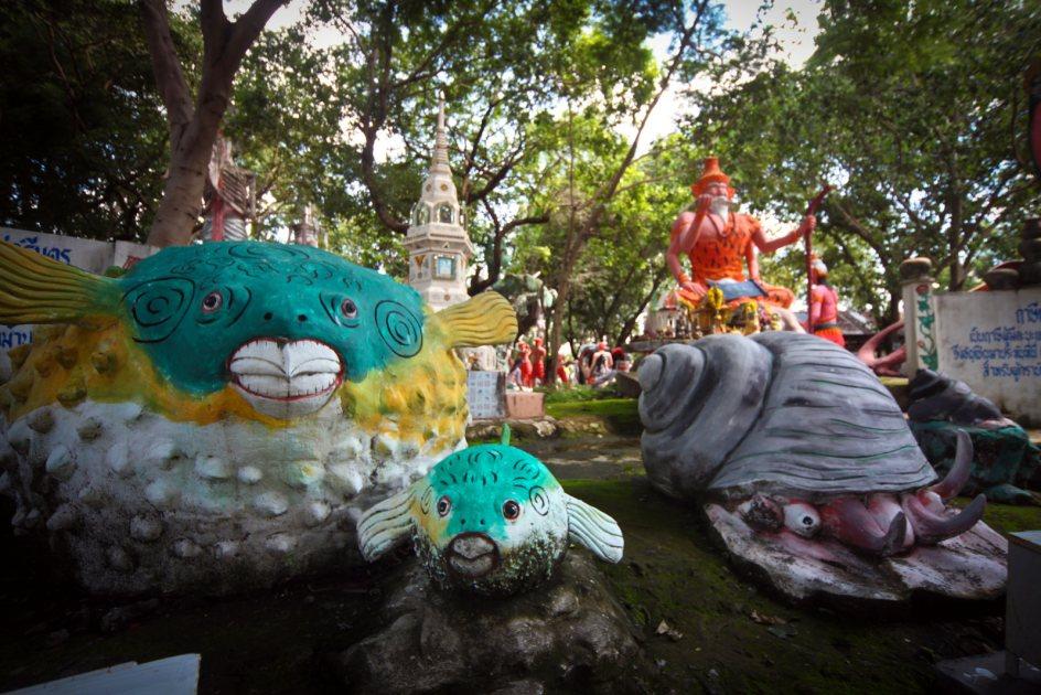 Tajlandia, zdjęcia z podróży, świątynia Wat Pa Non Sawan