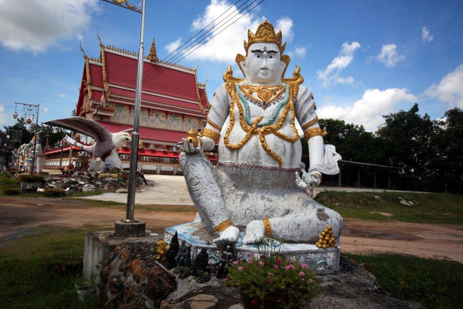 Tajlandia, park sakralny Wat Pa Non Sawan, zdjęcia z podróży