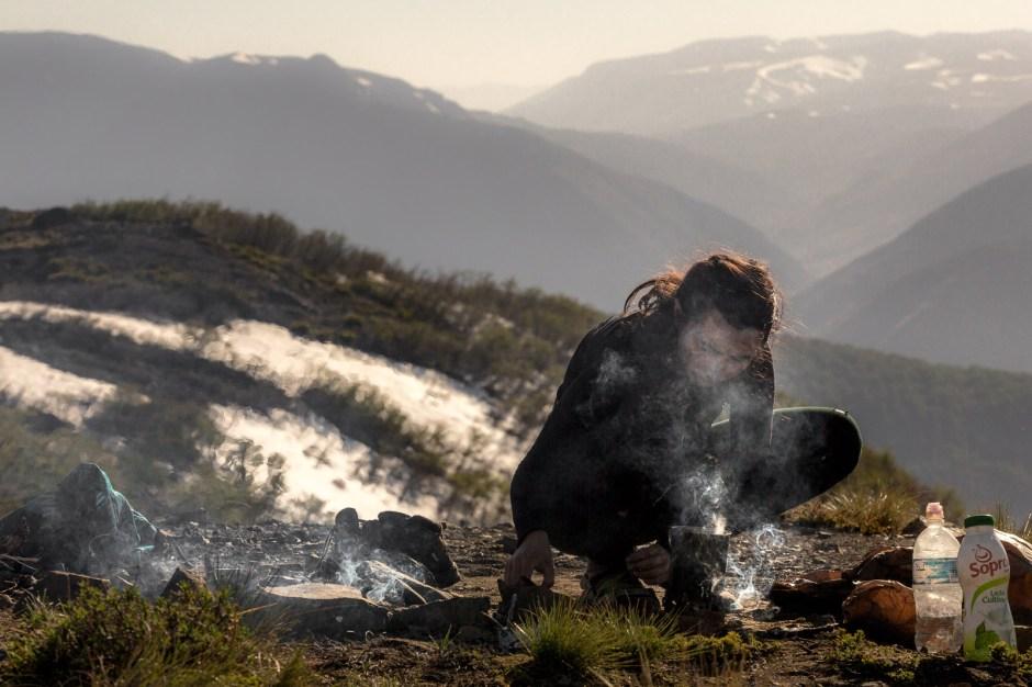 Treking w Andach, Chile, Katarzyna Nizinkiewicz