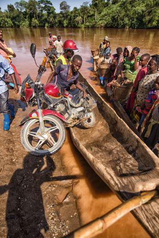 Kongo, motocykl