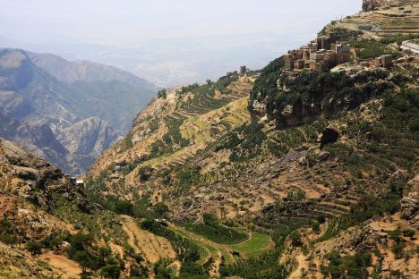 Jemen, góry Hazar, Al Hadżar, Al Hajjar, zdjęcia z podróży