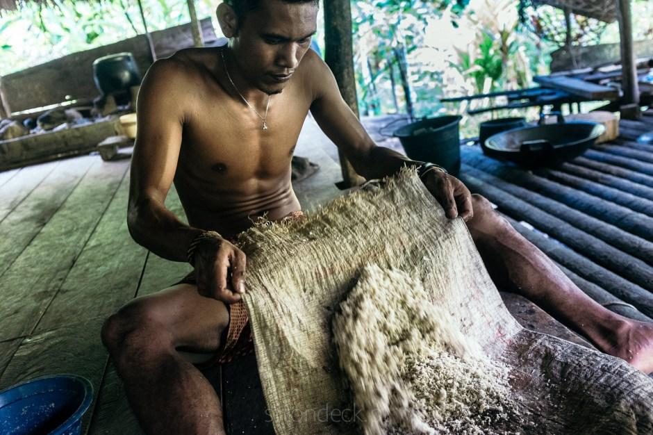 Sumatra, Mentawaje, życie codzienne, zdjęcia z podróży