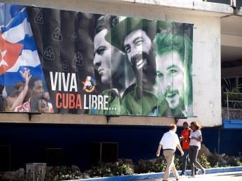 Kuba, zdjęcia z Hawany, fidel castro, che guevara