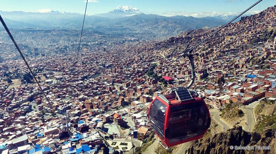 23. BOLIWIA, La Paz. Panorama najwyżej położonej stolicy na świecie. (Fot. Sebastian Placzek)