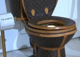 Η πανάκριβη, πολυτελής τουαλέτα Louis Vuitton είναι γεγονός