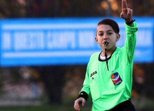Νταμιάνο Μπελίνι, διαιτητής ετών 12 στην Ιταλία!