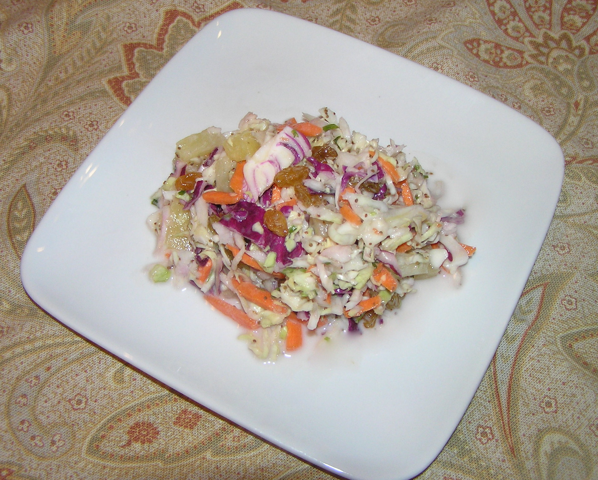 tropical cole slaw