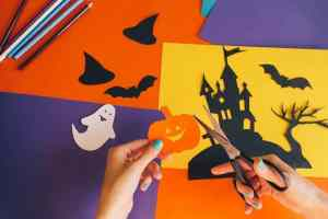 Preschool Halloween Art