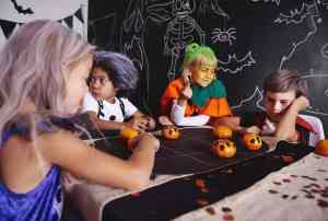 preschool halloween games