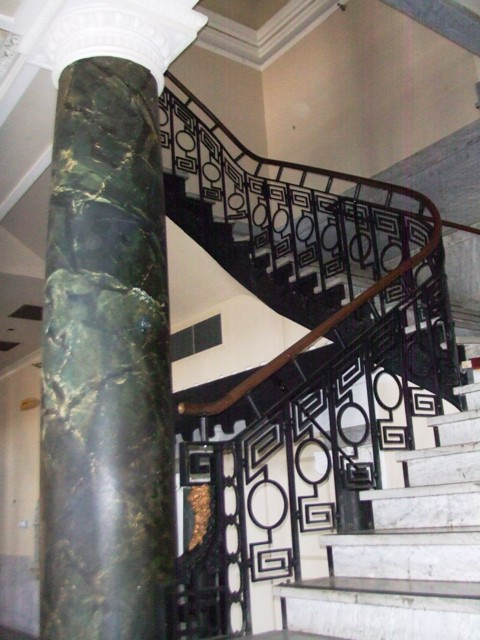Grand Staircase, Hotel Bentley, Alexandria, La