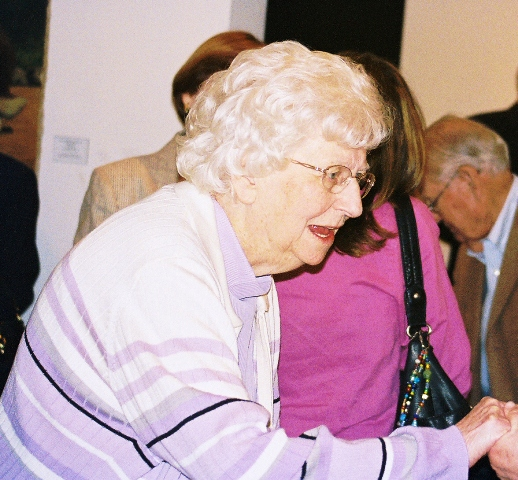 Oberia Price at the recent Peggy Bolton Lecture Series