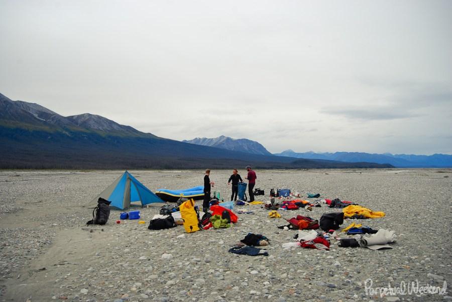 chitina rafting gear, supplies, river float