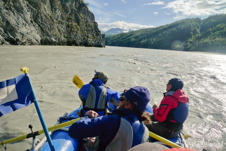 copper river, boat, floating, expedition