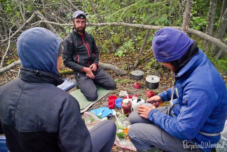kitchen site, copper river, alaska, float, boat, camping