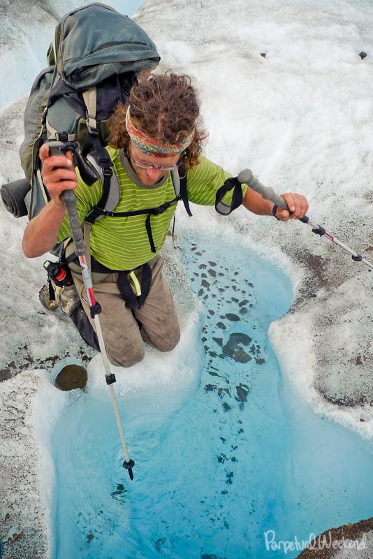 glacier water drinking alaska
