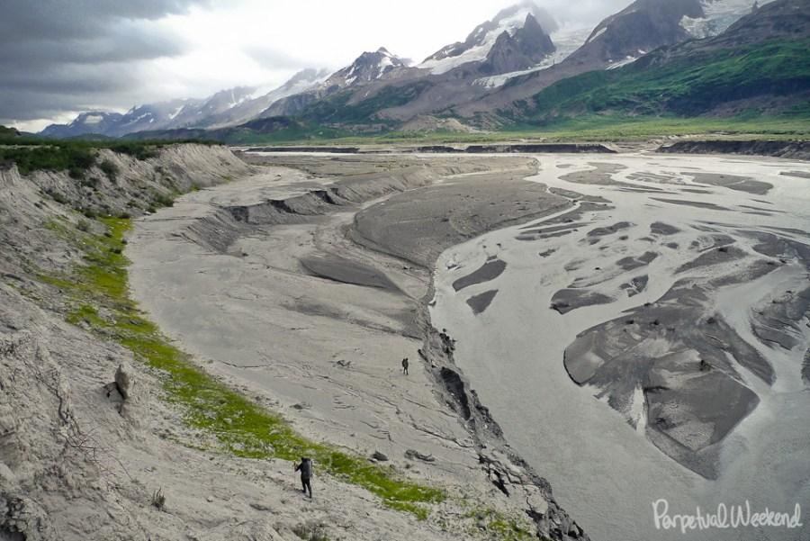 granite creek, wrangell st elias, alaska