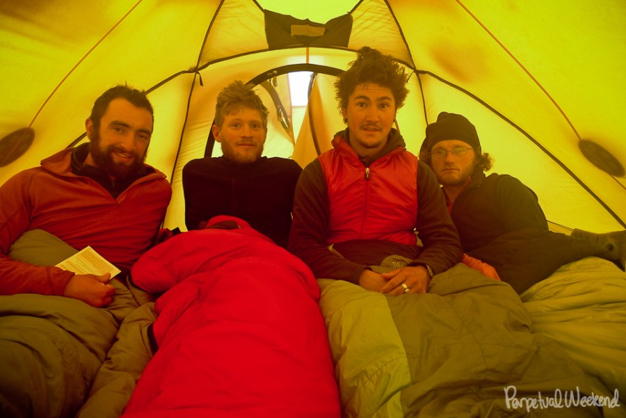VE-25 north face tent