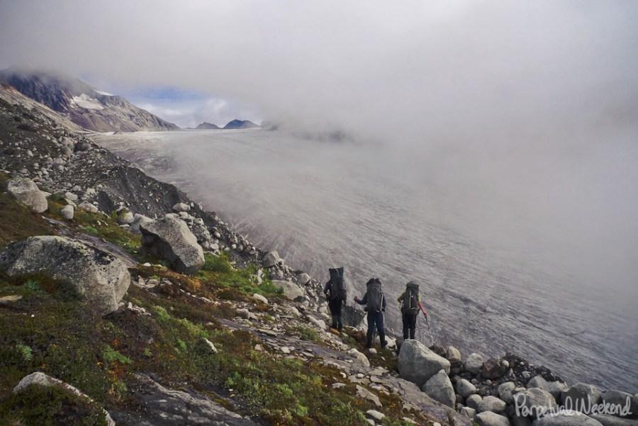 granite glacier, alaska