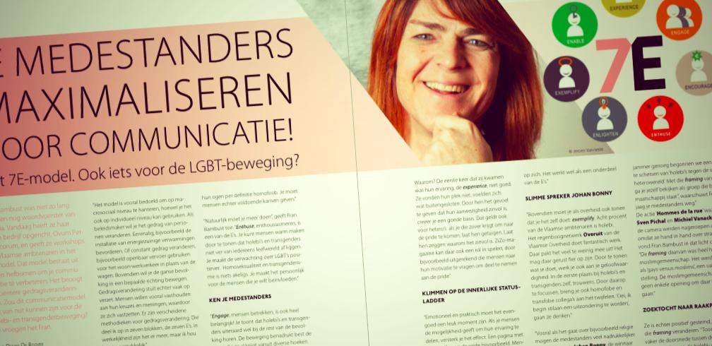 Het 7E-model. Ook iets voor de LGBT-beweging?