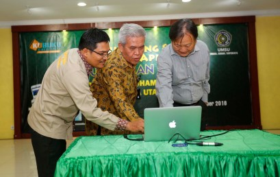 Launching Perpustakaan Digital UMSU