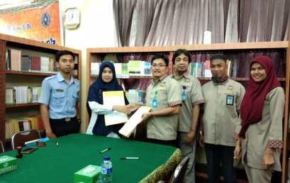 Perpustakaan Akademi Maritim Indonesia (AMI) Medan Jalin Kerjasama dengan Perpustakaan UMSU