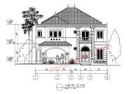 Gambar Rumah 2 Lantai 1475 x 2800 DWG