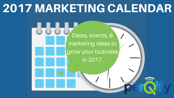 2017 MARKETING CALENDAR