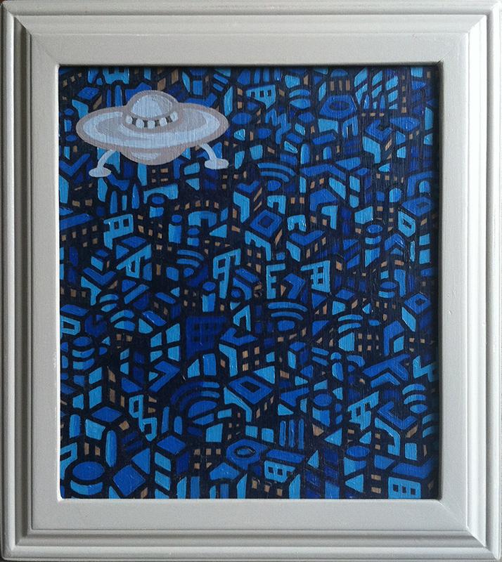 UFO Blue City
